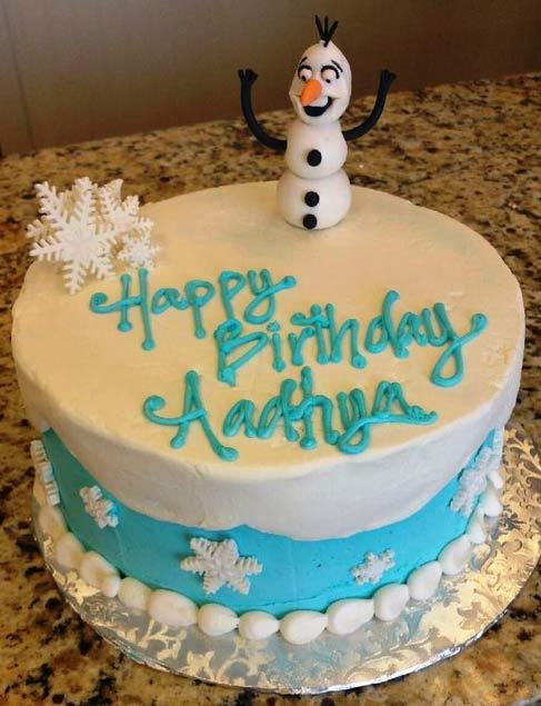 7 Designer Birthday Cakes Cleveland Ohio Photo Disney Frozen