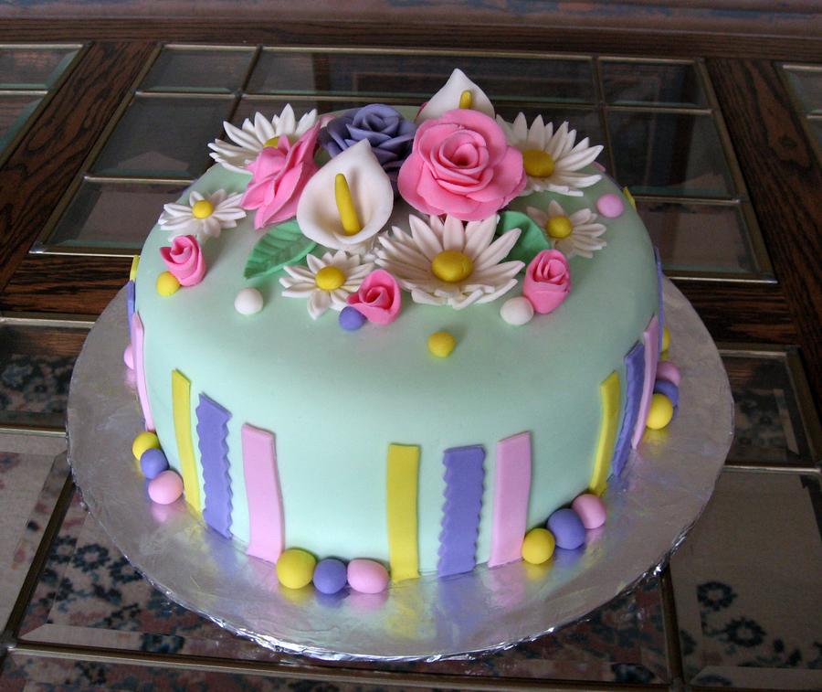 Brilliant 8 Easter Themed Birthday Day Cakes Photo Easter Bunny Birthday Personalised Birthday Cards Beptaeletsinfo