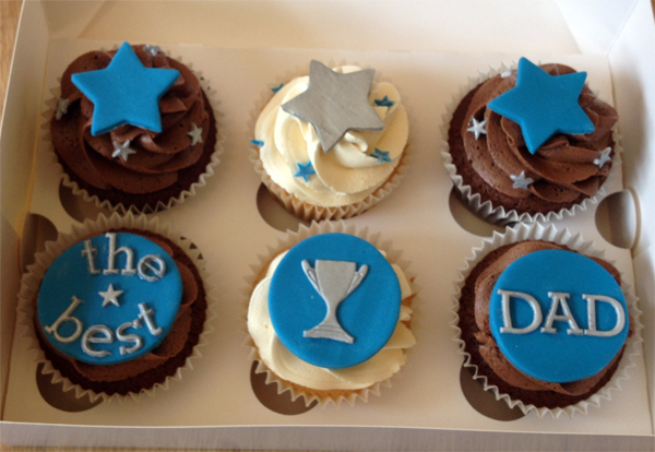 10 Father S Day Cuocakes Photo Father S Day Cupcakes Father S