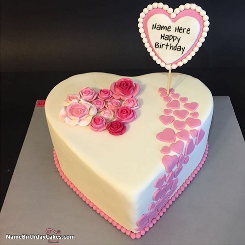 12 Beautiful Birthday Cakes With Names Of Them Photo Beautiful