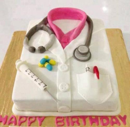 Happy Birthday Doctor Cake