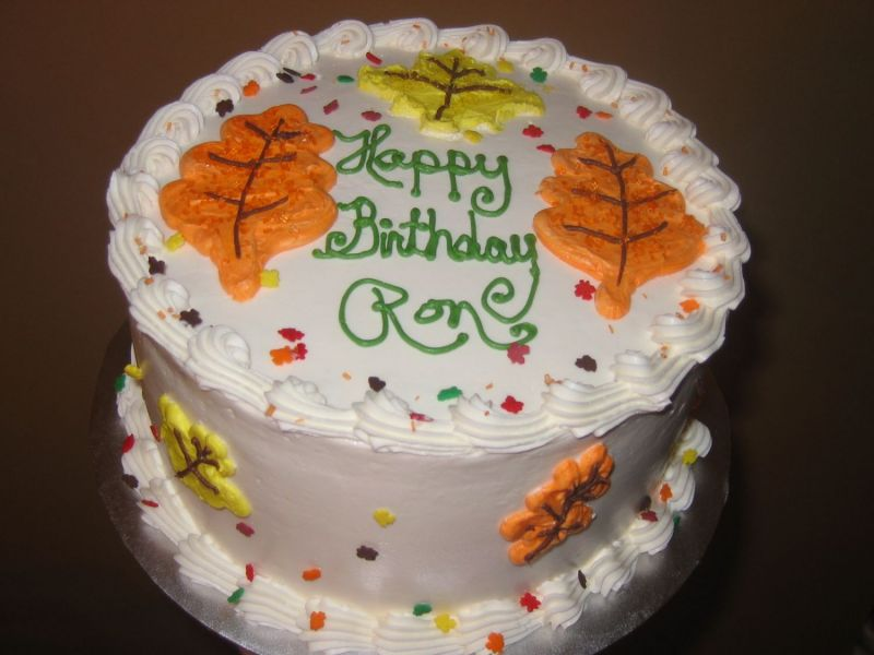 8 Ron Birthday Cakes To Texas Photo Happy Birthday Ron Cake Happy