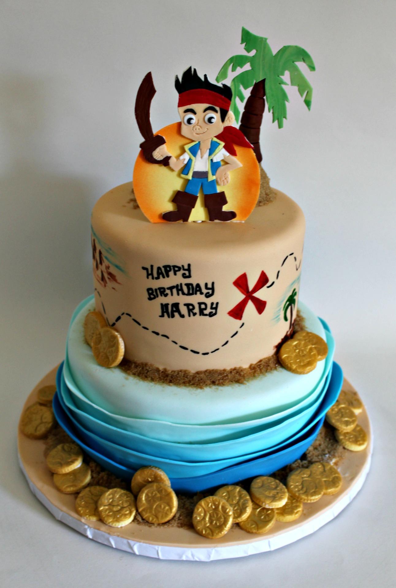 Jake Pirate Birthday Cake