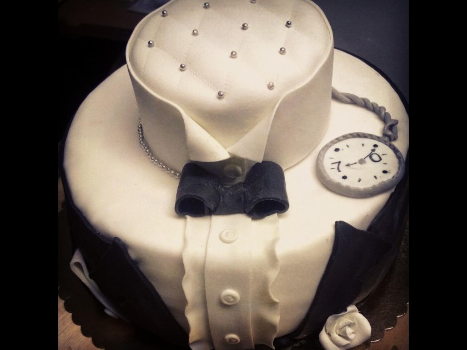 11 Birthday Cakes For Men Black Photo Black And White Birthday