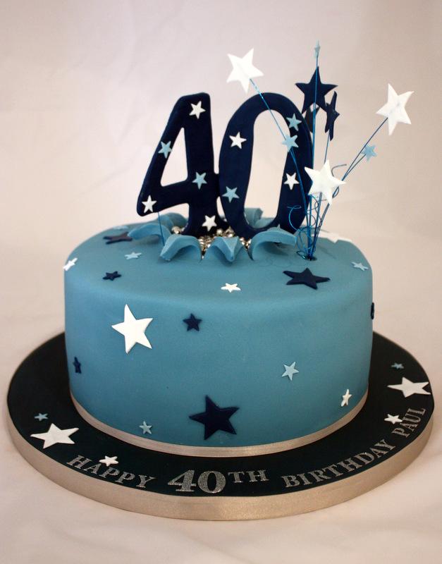 Men 40th Birthday Cake Ideas