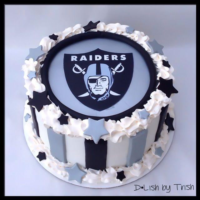 Astounding 8 All Raider Cakes Photo Oakland Raiders Cake Raiders Cake And Funny Birthday Cards Online Inifofree Goldxyz