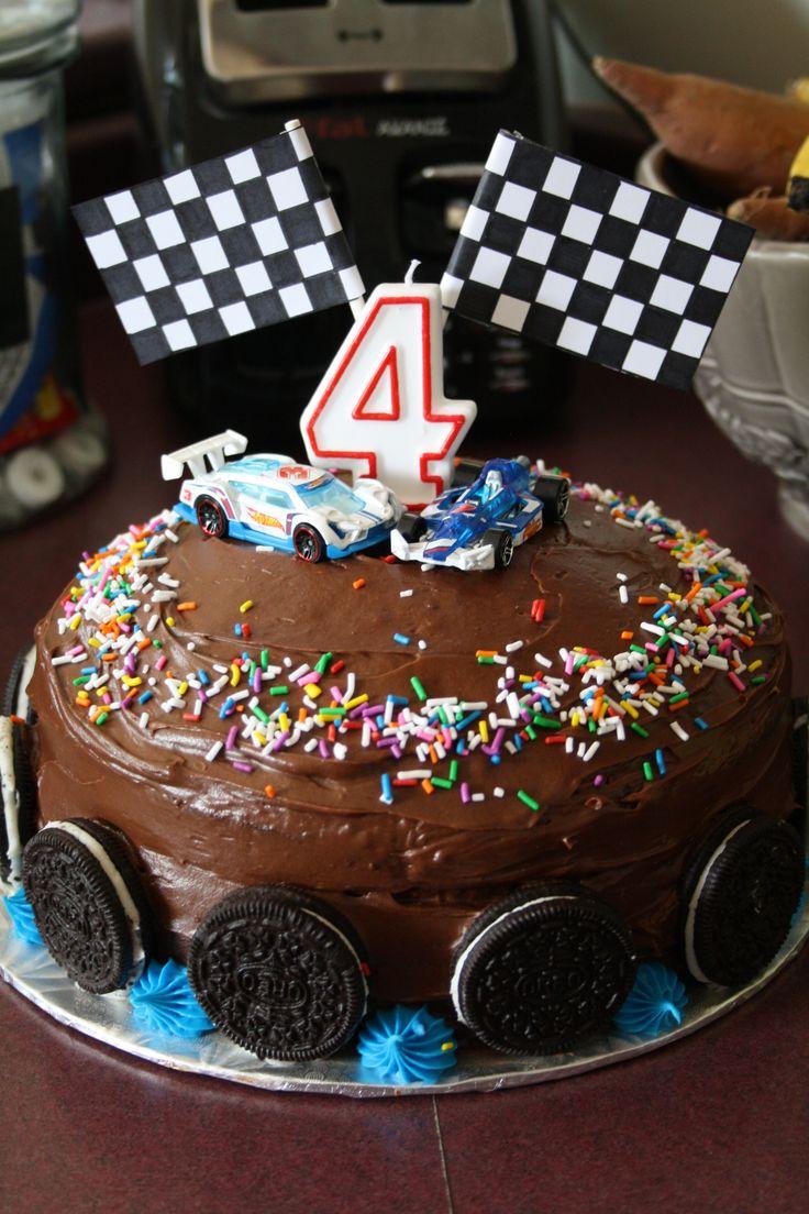 11 6 easy to make car cakes photo race track birthday cake race race car cake baditri Choice Image