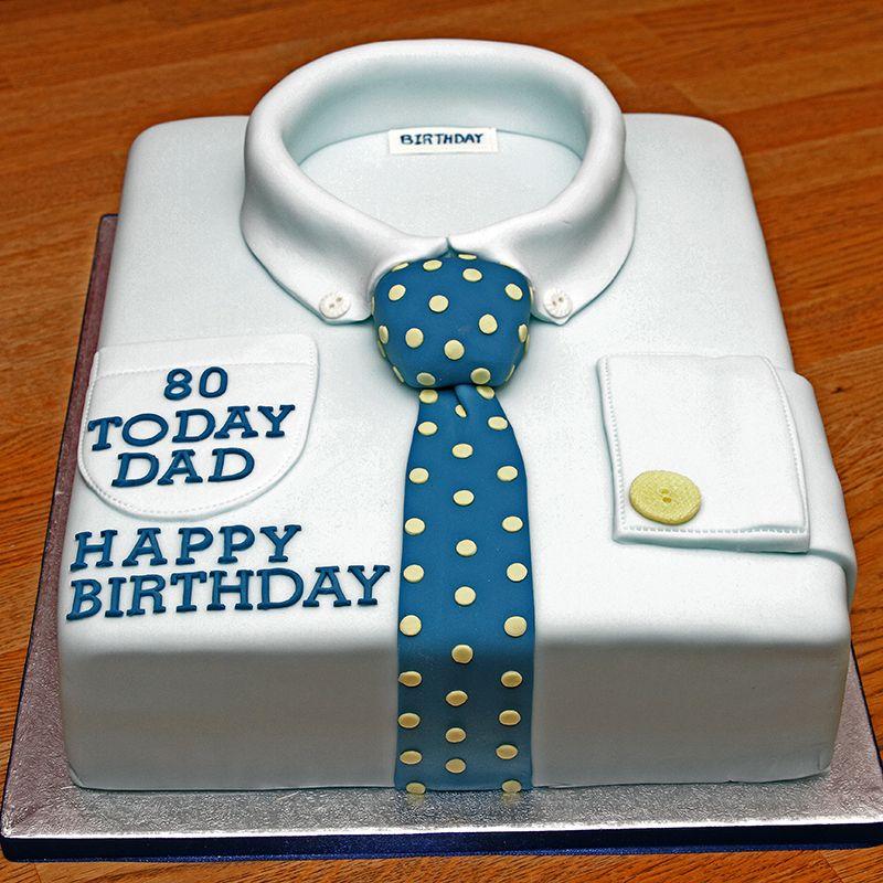 12 Shirt And Tie Birthday Cakes Photo Shirt And Tie Birthday Cake