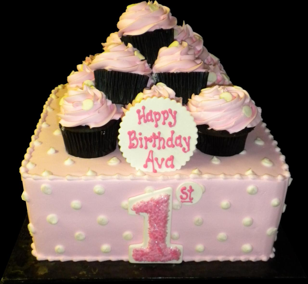 10 Buttercream Square Birthday Cakes Photo Square Buttercream