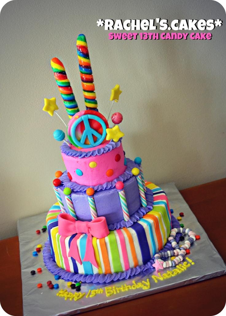 10 Cute 13th Birthday Cakes For Girls Photo Sweet 13th Birthday