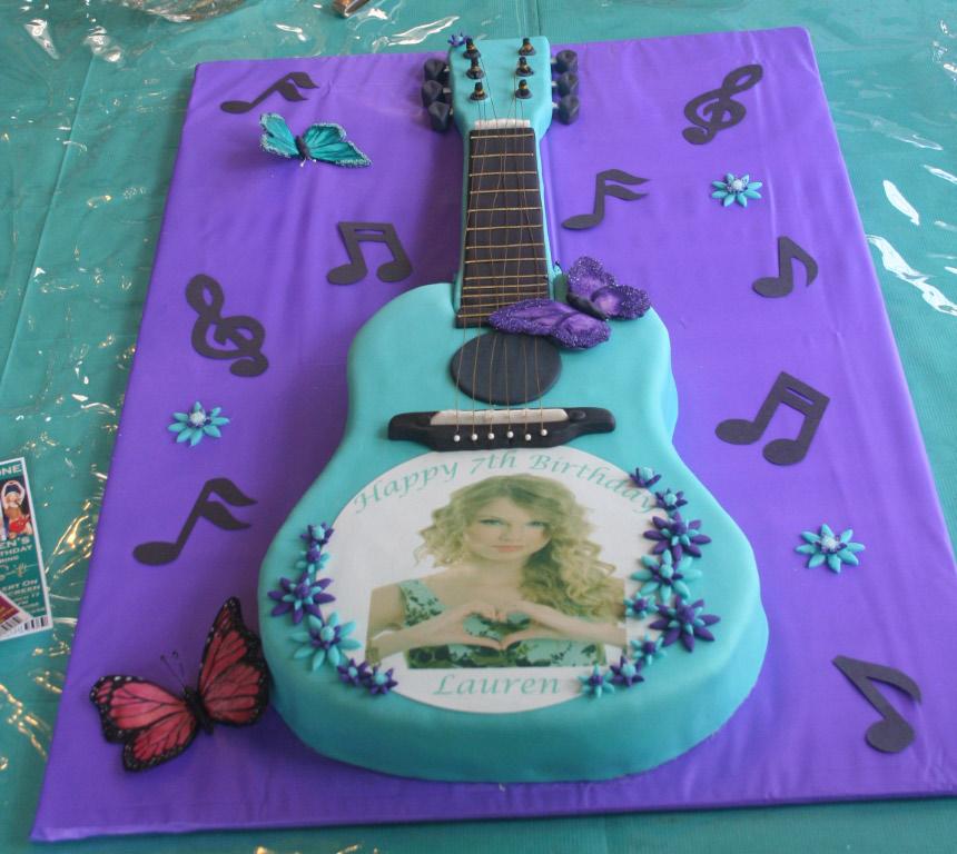 12 Taylor Swift Themed Cakes Photo Taylor Swift Birthday Cake