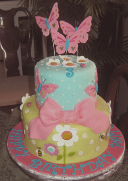 2 Year Old Birthday Cakes For Girls