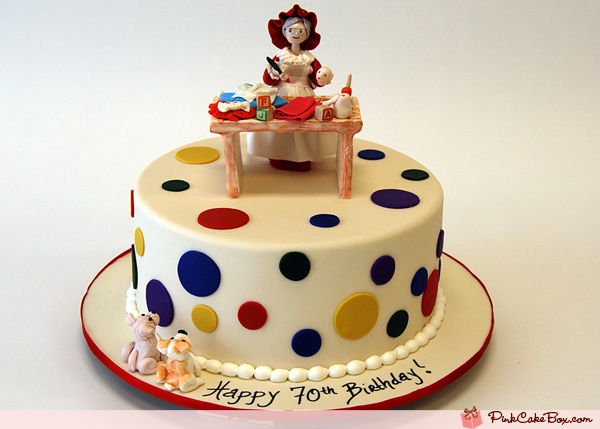 70th Birthday Cake Ideas