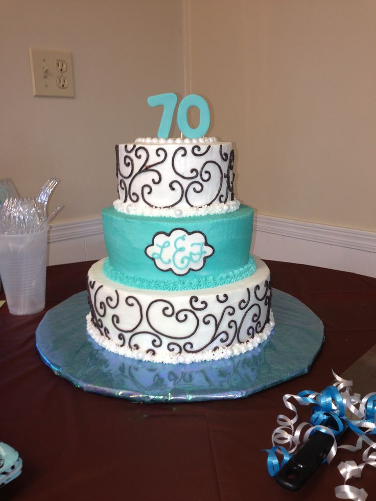 10 70th Birthday Cakes For Mom Photo 70th Birthday Cake Ideas