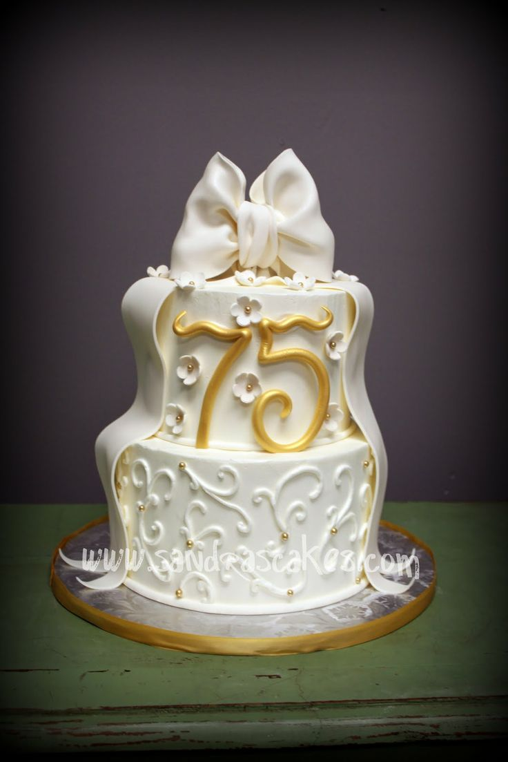 75th Birthday Cake Ideas For Women