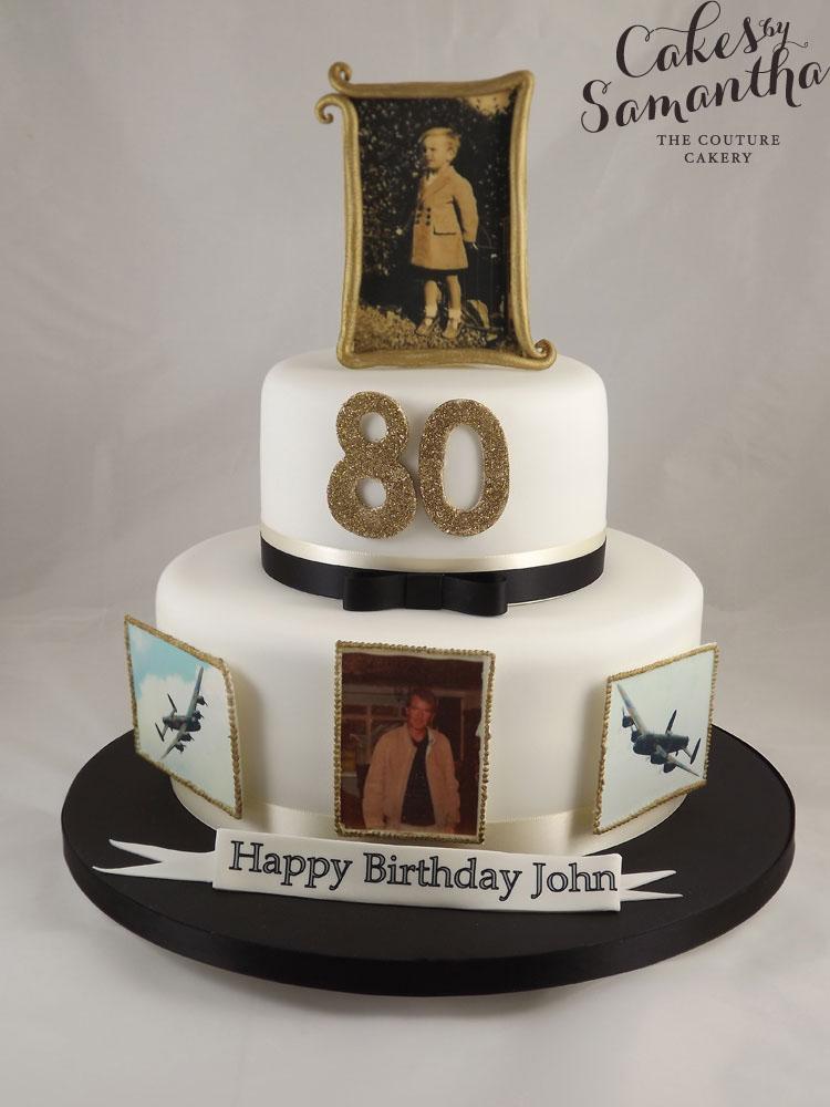 80th Birthday Cake Ideas For Women