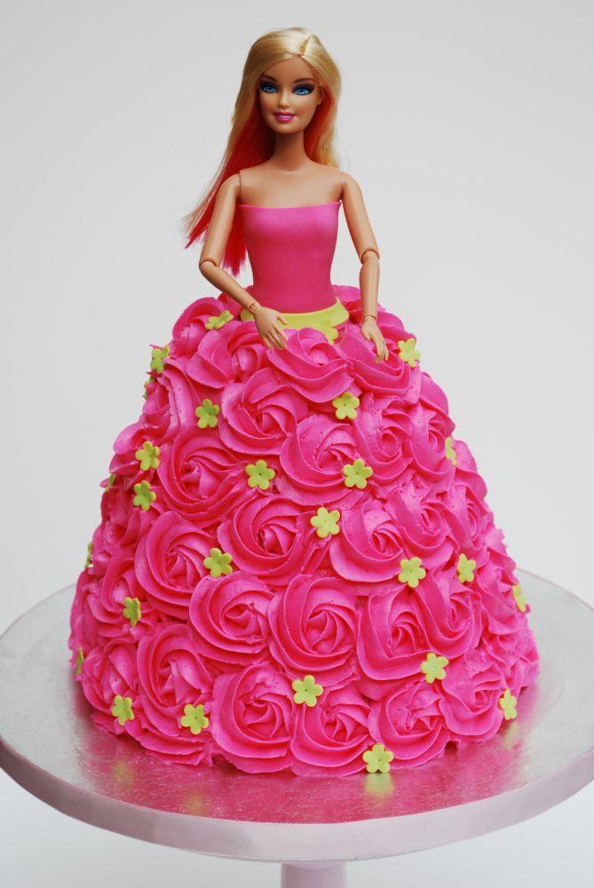 Brilliant 7 Doll For Girls 5Th Birthday Birthday Cakes Photo Barbie Doll Funny Birthday Cards Online Barepcheapnameinfo