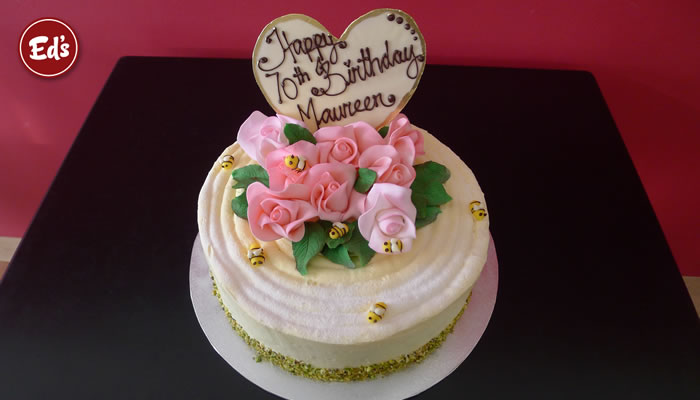 Birthday Cake Ideas For Elderly