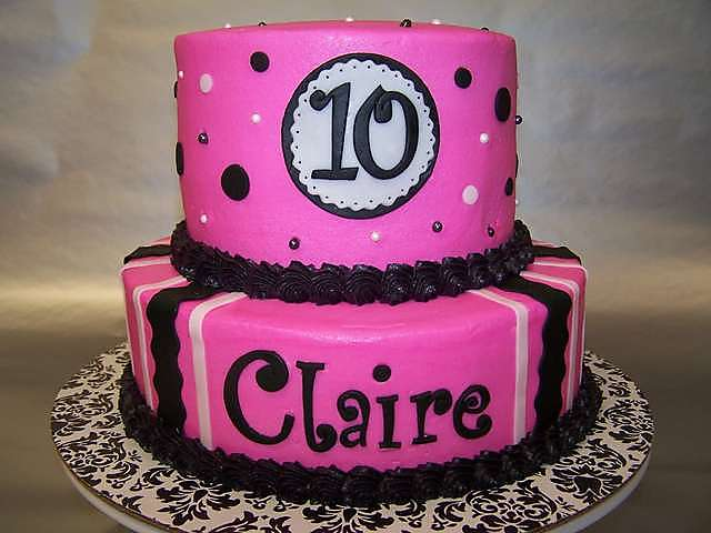 Cool 10 Year Old Birthday Cakes Cake Image Diyimages