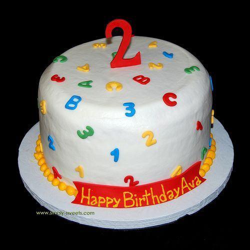 Fabulous 13 2Nd Birthday Cakes For A Birthday Photo Elmo 2Nd Birthday Funny Birthday Cards Online Fluifree Goldxyz