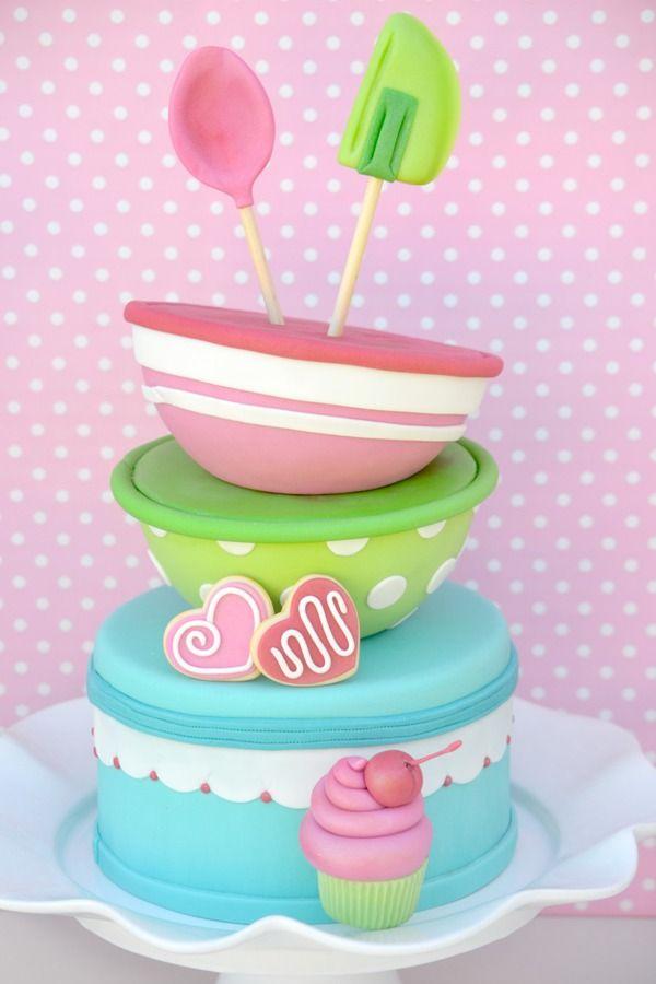 Sensational 11 Baking Birthday Cakes Photo Cake Baking Party Ideas Baking Personalised Birthday Cards Vishlily Jamesorg