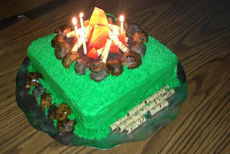 Tremendous 9 Fire Out Tin Can Cakes Photo Funny Birthday Cake On Fire Can Funny Birthday Cards Online Alyptdamsfinfo