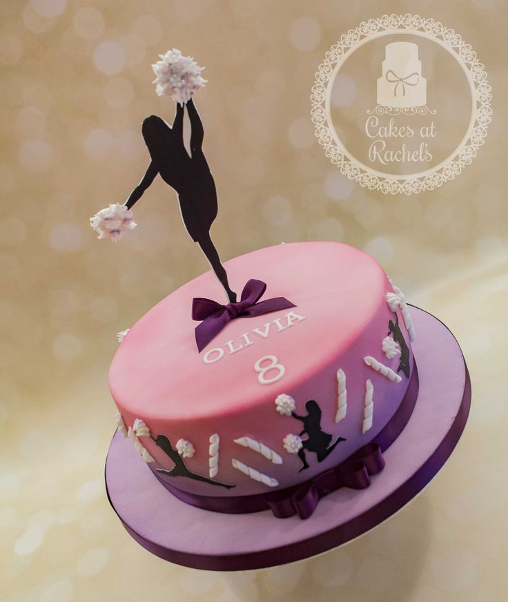 Outstanding 13 Cheer Girl Cakes Photo Cheerleader Birthday Cake Ideas Funny Birthday Cards Online Fluifree Goldxyz