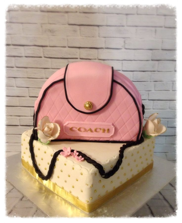 Coach Handbag Cake Designs