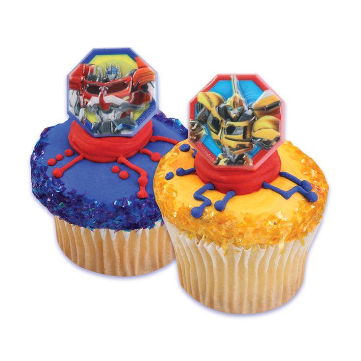 Cupcake Transformer Optimus Prime Cake