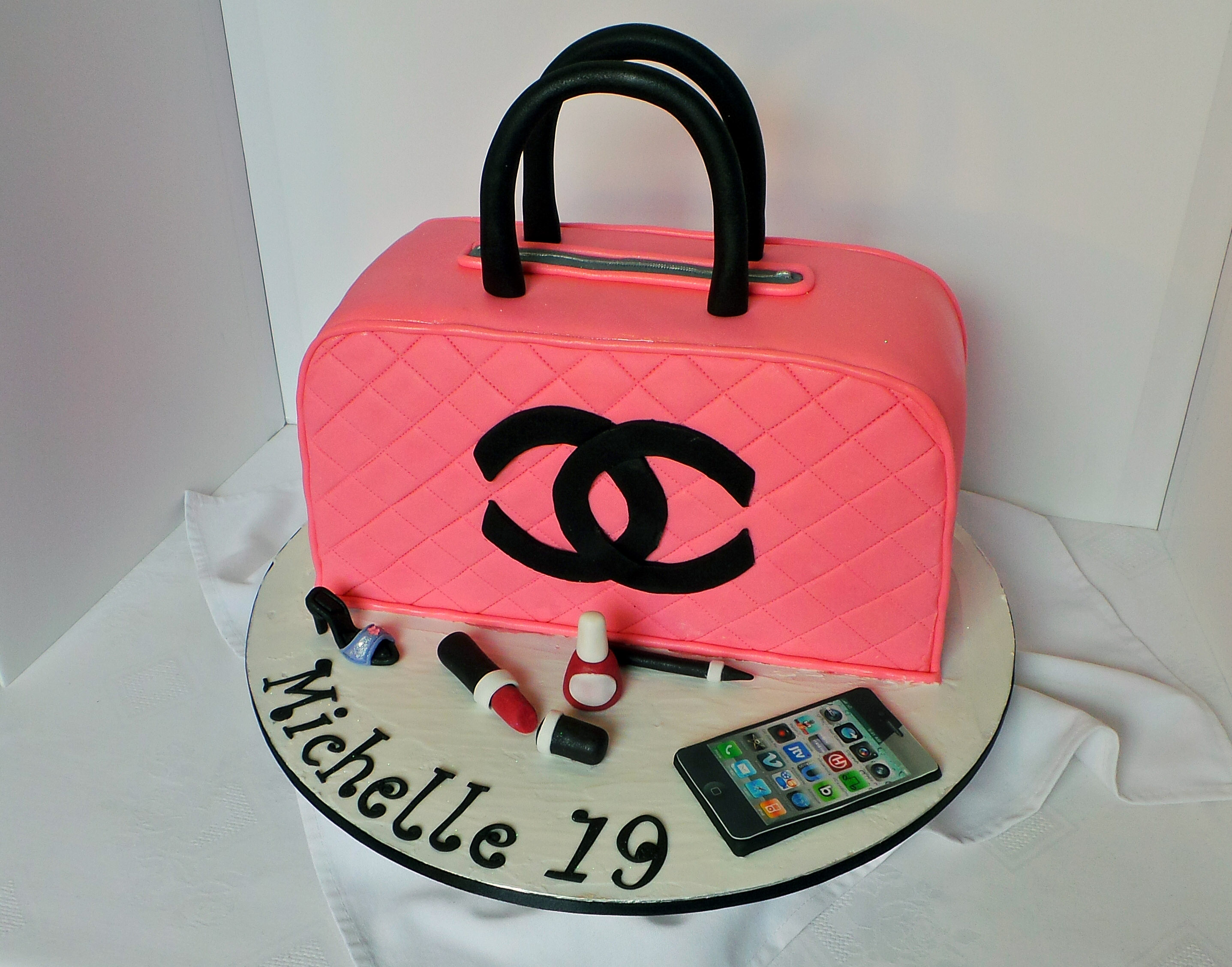 Designer Purse Birthday Cake