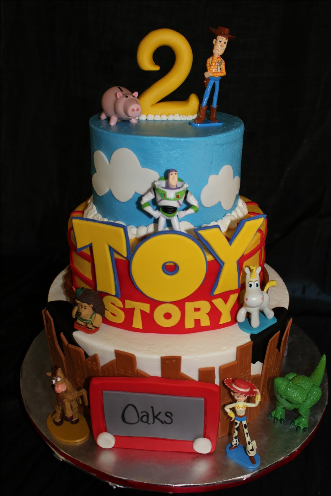 Amazing 10 Toy Story Theme Birthday Cakes And Cupcakes Photo Toy Story Funny Birthday Cards Online Overcheapnameinfo