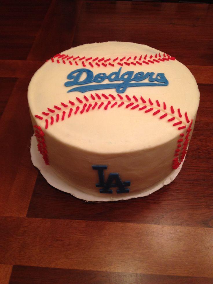 Los Angeles Lakers Birthday Cake Via Dodgers