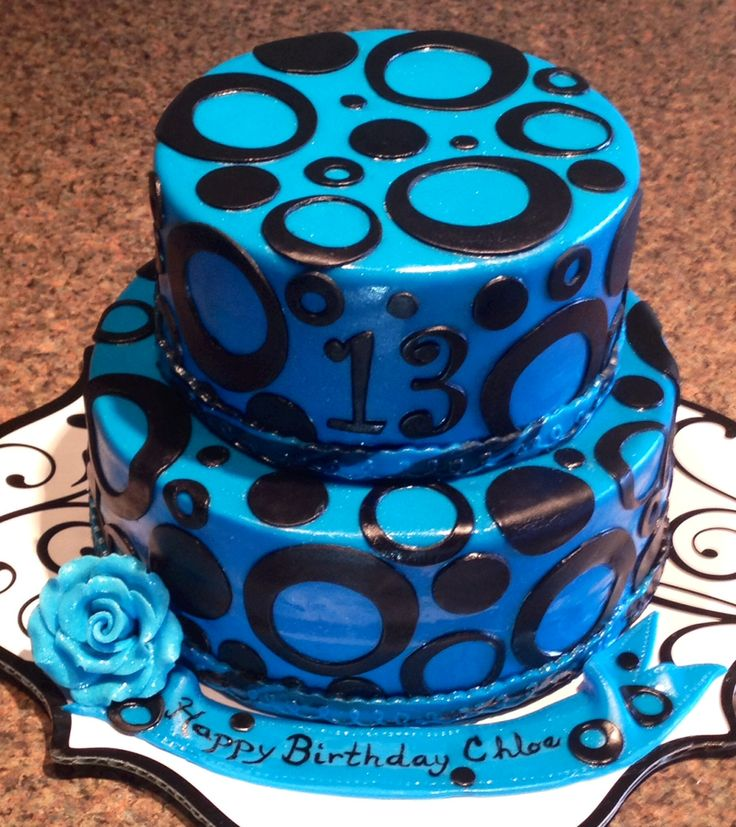 8 Sweet 13 Birthday Cakes For Girls Photo Sweet 13 Birthday Cakes