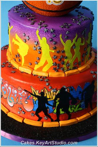 Pleasant 11 Cakes Graffiti Hip Hop Photo Hip Hop Dance Birthday Cake Funny Birthday Cards Online Inifodamsfinfo