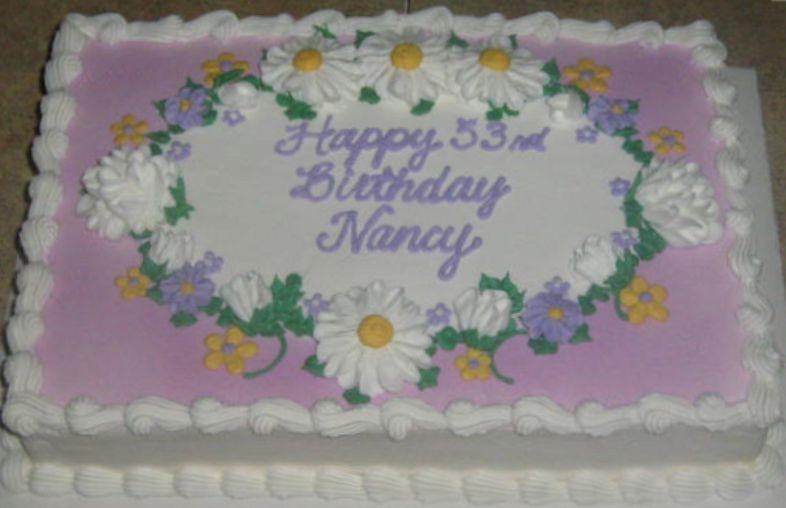 Lavender Birthday Sheet Cake: Sheet Cake Spring At Alzheimers-prions.com