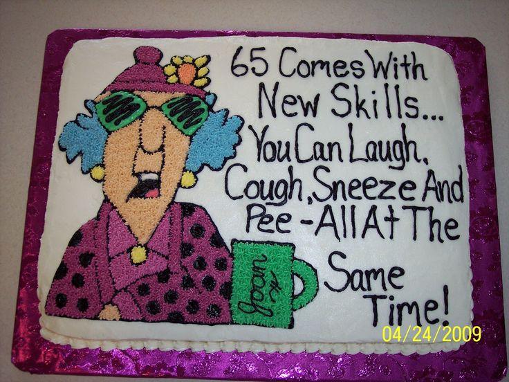 Miraculous 12 Happy 65Th Birthday Cakes Men Photo Maxine 65Th Birthday Cake Funny Birthday Cards Online Drosicarndamsfinfo