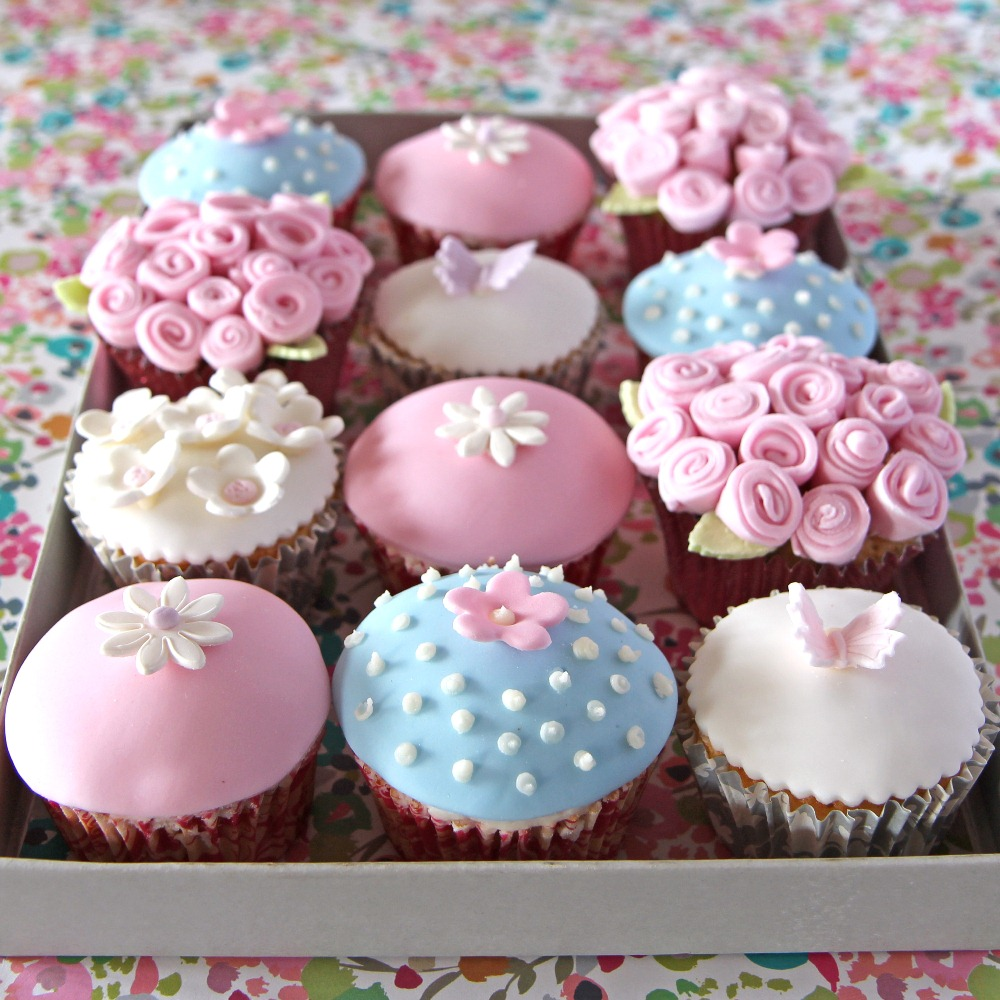 9 Photos of Easy Mother's Day Cupcakes Ideas