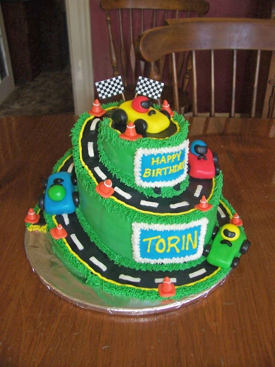 Astounding 10 Race Car Birthday Cakes For John Photo Race Car Birthday Cake Funny Birthday Cards Online Elaedamsfinfo