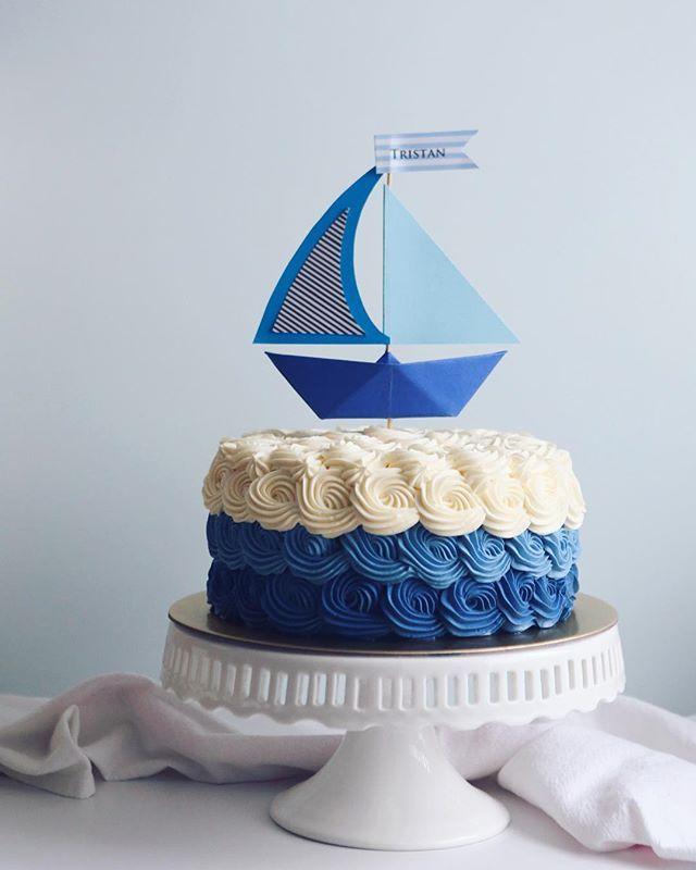 Marvelous 10 Nautical Themed 30Th Birthday Cakes Photo 30Th Birthday Cake Funny Birthday Cards Online Sheoxdamsfinfo