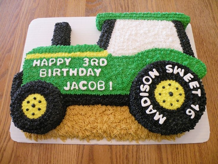 11 Tractor Shaped Cakes Photo Cupcake Cake Tractor Tractor Cake