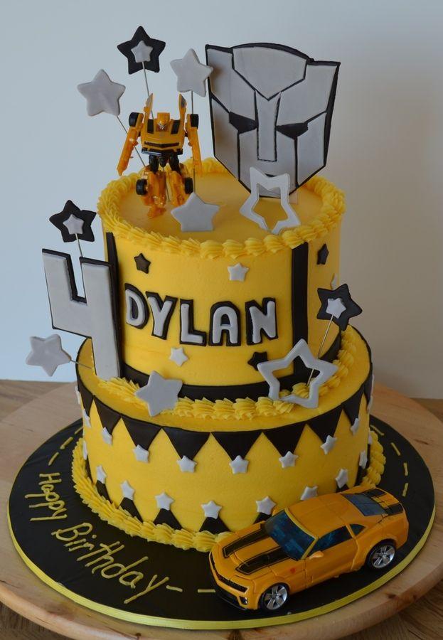 Transformers Birthday Cake
