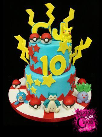 Walmart Boys Birthday Cakes Pokemon