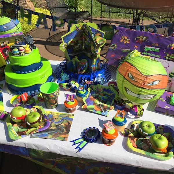 8 Heb Birthday Cakes Ninja Turtles Photo Ninja Turtle Birthday