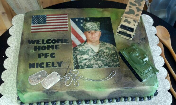 10 welcome home soldier cakes photo welcome home soldier cake