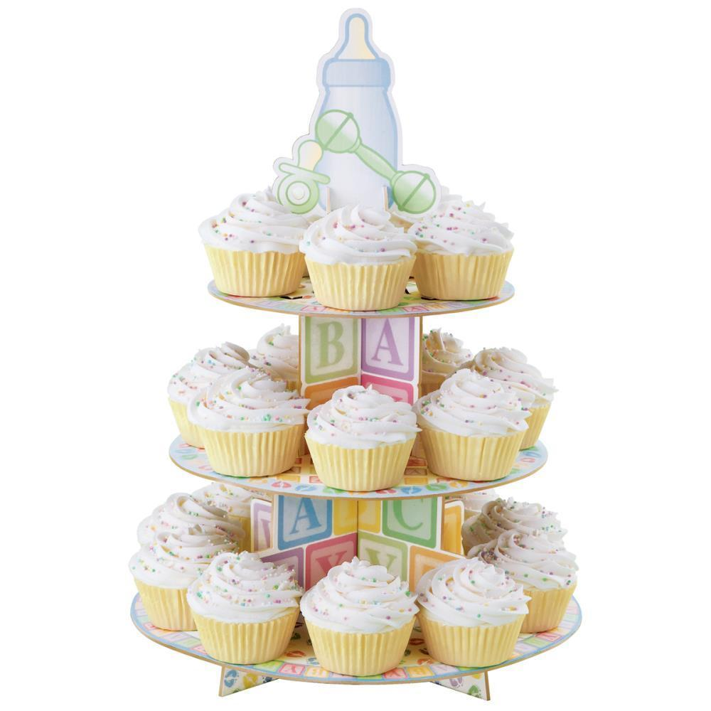 6 Wilton Baby Shower Cupcakes Photo Sleeping Baby Shower Cupcakes