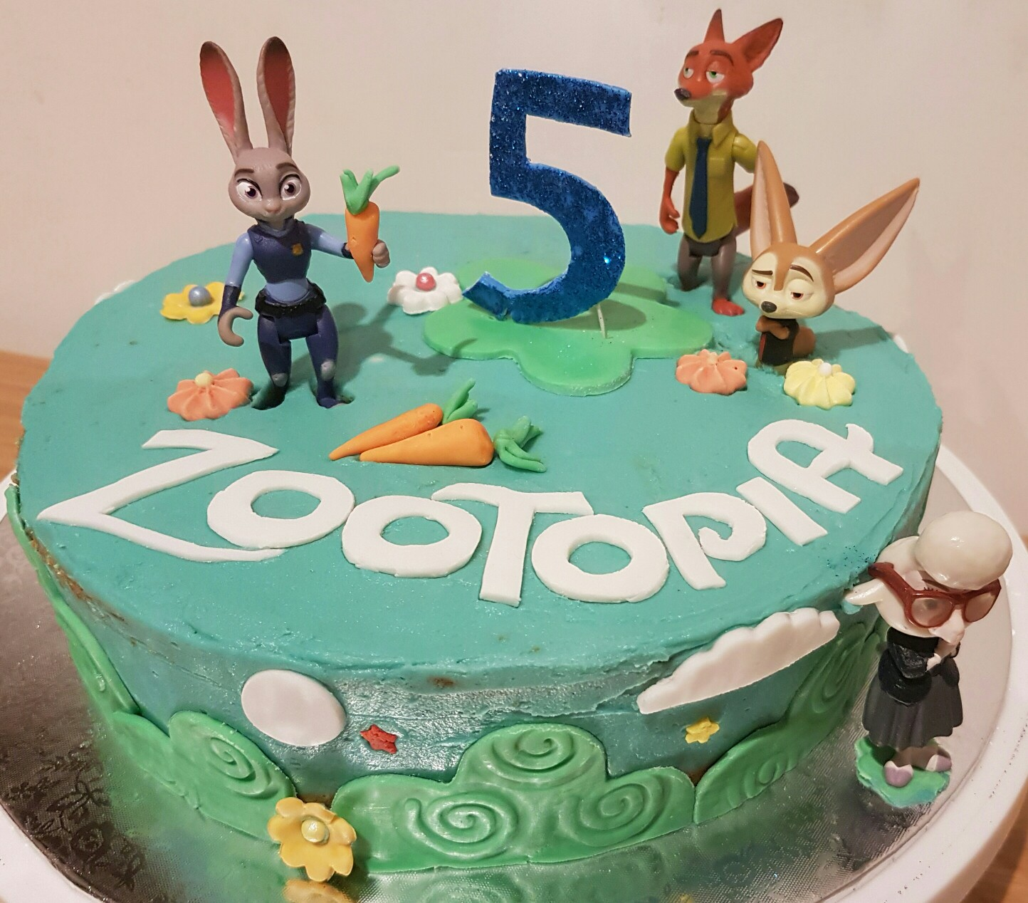 Zootopia Party Birthday Cake