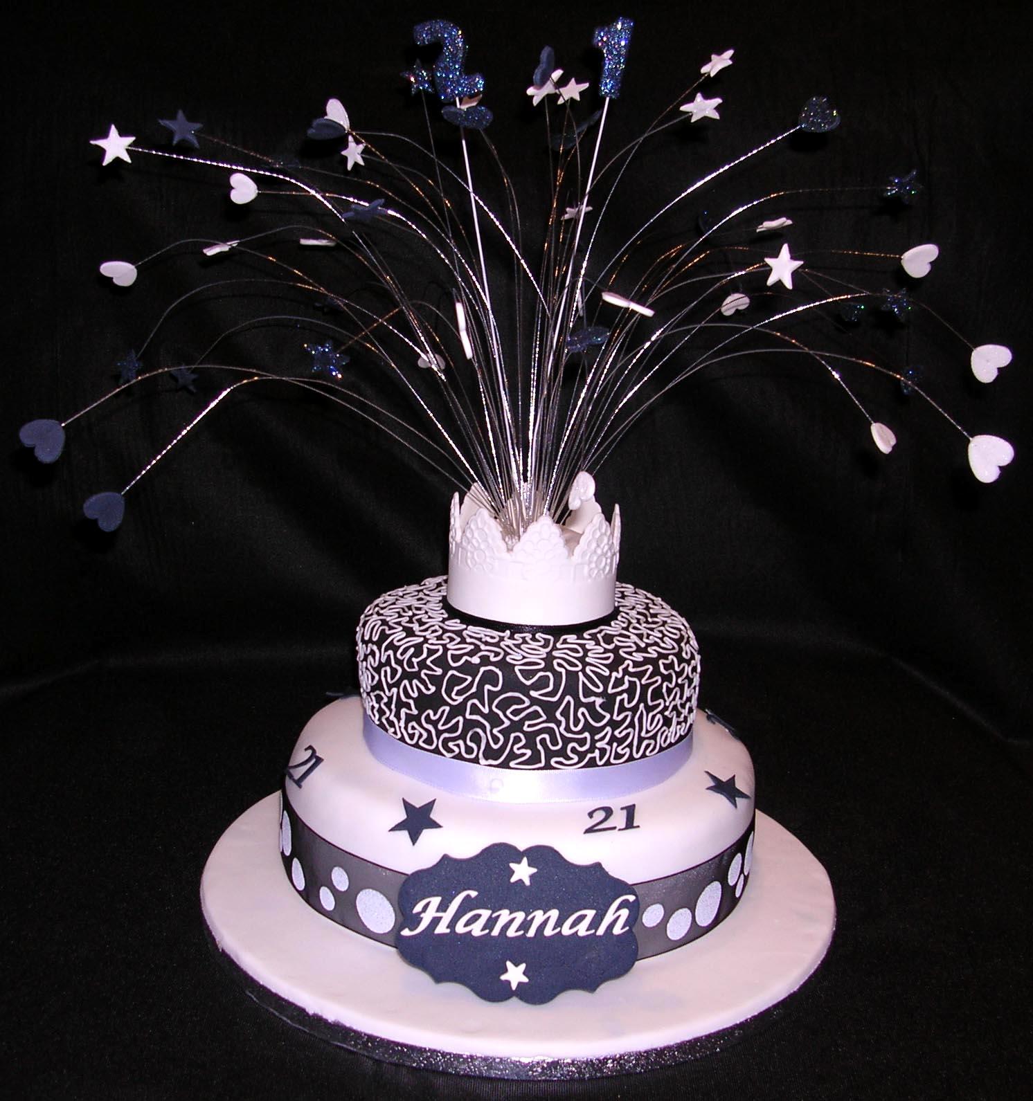 11 21st Birthday Cakes Photo