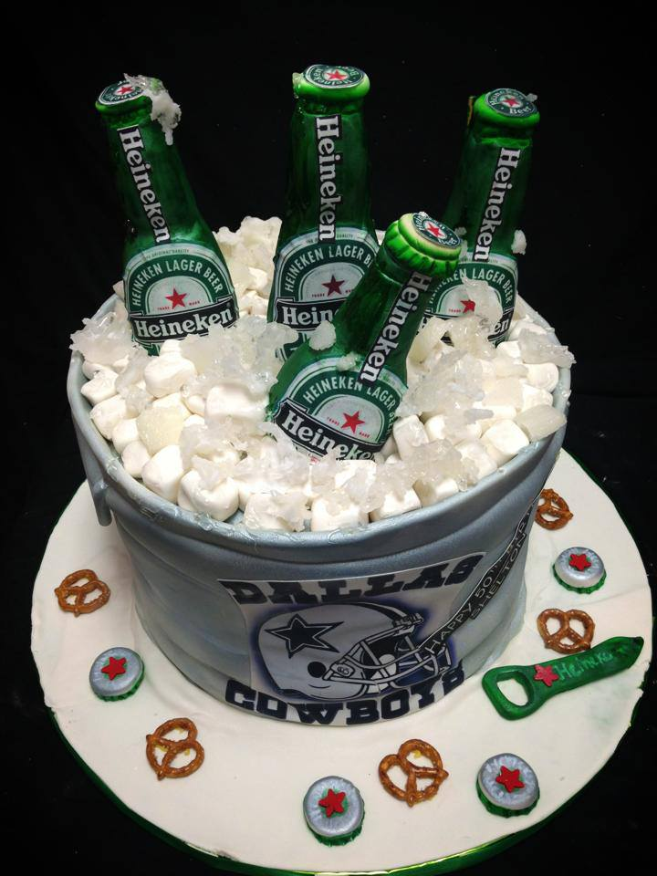 11 Happy Birthday And Beer Cupcakes Photo