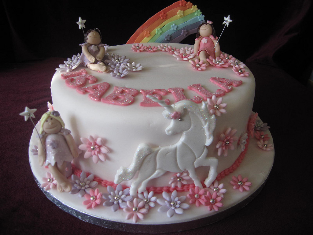 8 Fairy Birthday Cakes For 8 Year Olds Photo 8 Year Old Girl