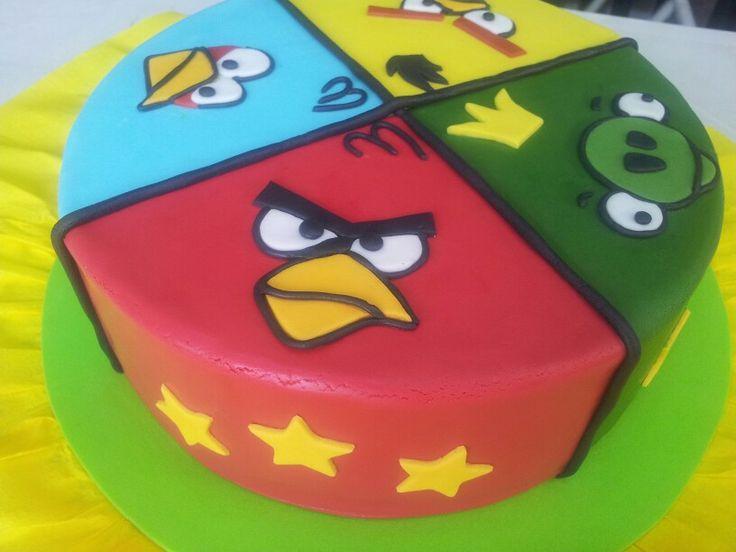 10 Angry Bird Birthday Cakes Mars Photo Angry Birds Birthday Cake